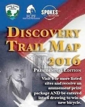 Discovery Trail map.