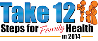 Take 12 Family Health logo.