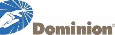 Dominion logo.