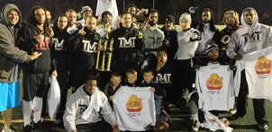 TMT turkey bowl champions.